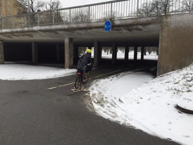Rålambshovsparken cykelpendla hässelby sopsaltaren