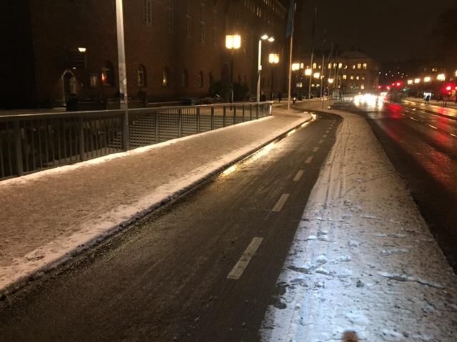 cykelpendla Hässelby sopsaltaren