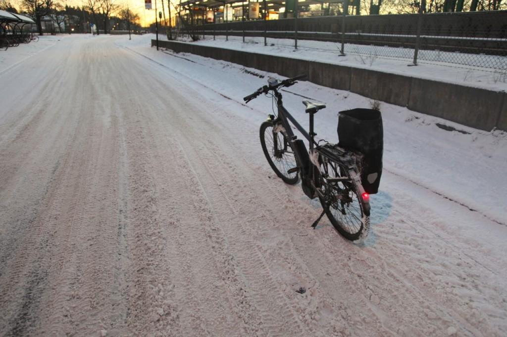 Cykelstråk där trafikkontoret lovat göra sitt yttersta