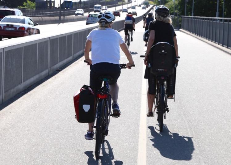 Backcykel i 40km/t utan att ens trampa, i vardagscykling.